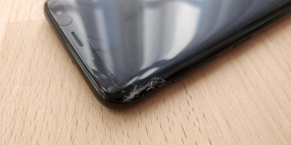 smartphone bildschirm kaputt