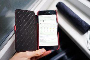 Samsung Galaxy S7 Rot